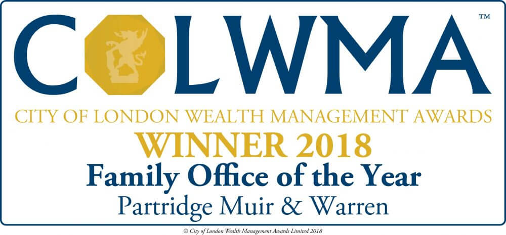 PMW Crowned Family Office of the Year 2018